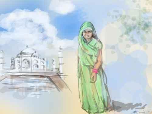 インド旅行~女一人旅の心得